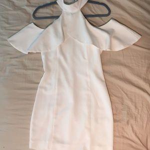 Cocktail Short Dress w/ arm holes, high neck